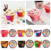 Camouflage Silicone Muffin Cup Baking Cupcake Maker Heat-Resistant Muffin Pan Reusable Cake Cup Silicone Bake Molds Bake Tool VT0664