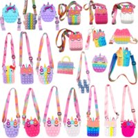 New It Bag Unicorn Fidget Toys Squishy Kawaii Messenger Stress Reliever Toys Sensory Toy Special Needs Adhd Autism Kids Gift