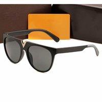Occhiali da sole Designer per donne Protezione UV speciale Goggle Vintage Big Round Frame Top Quality GRATIS Vieni con confezione
