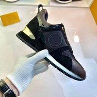 Platform Erkekler Spor Rahat Ayakkabılar Kadın Seyahat Deri Dantel-Up Sneaker 100% Dana Moda Harfler Kalın Alt Kadın Ayakkabı Düz Bayan Sneakers Büyük Boy 39-42-45 US4-US11