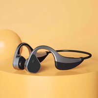 Bluetooth 5.0 K8 Hi-tech Wireless Headphones Bone Conduction Earphone Outdoor Sport Headset with Microphone 10m Transfer 10H battery consume 2H charging