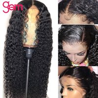 Parrucche di pizzo Wave Wave Wing Parrucca anteriore capelli umani peruviani remy frontale 360 30 pollici 4x4 chiusura