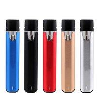 E-cigarro kits 0.5ml 1.0ml Vape Vape System Bobina de cerâmica Espesso Cartucho Atomizer de Óleo com 260mAh Battery compatível Stiizy