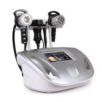 Portable aspirateur RF Serrer Corps de serrage Minceur 5 en 1 Cavitation 40K Cellulite ultrasonique