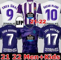 Real Valladolid футбол для футбола 22 22 22 Weissman Fede S. Sergi Guardiola óscar Plano L. OLAZA R.ALCARAZ MARCOS ANDRE CAMISETAS DE FúTBOL 2021 2022 Мужчины детские детские футболки