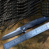 Twosun TS16 G10 Zakmes D2 Satin Blade Ceramic ball bearings Washer Outdoor Campsite Adventure Edc Poison Tools