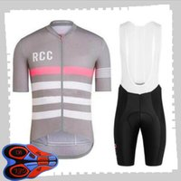 Rapha Team Cycling Manica corta Jersey (Bib) Pantaloncini set da uomo Summer Traspirante Bicycle Bicycle Abbigliamento MTB Bike Outfits Sport Uniform Y21041428