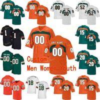 NCAA College Jerseys Miami Hurricanes 26 Sean Taylor 3 Frank Gore 3 Gilbert Franiverson 4 Devin Hester Futebol Personalizado Costurado