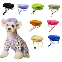 Mode hond kleding hond hoeden catwalk stijl huisdier kostuum accessoires 8 kleur 18% korting xD24846