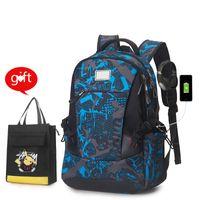 Men travel backpack College Student school backpack high School Bags for Teenage boys Casual Sports backpack laptop Rucksack