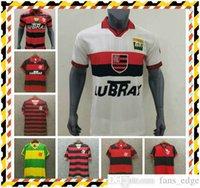 Top Vintage Jersey CR 2009 1995 Flamengo Soccer Jersey Flamenco 1988 1990 1982 Retro Camisa de Futebol Guerrero Diego Jersey