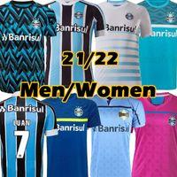 21/22 Gremio Futbol Formaları D.Costa # 10 Guild Giuliano 2021 Ramiro Geromel Luan Maicon Fernandinho Grêmio Jersey Erkek Kadın Futbol Gömlek Tayland Top