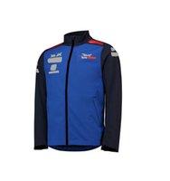 2021 F1 FORMULA ONE CAR Series Logo Racing Traje Equipo más Velvet Suéter Aficionado al coche Monos de automóviles Invierno a prueba de viento y cálido