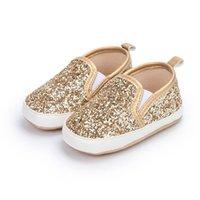Baby Shoes Girls Footwear Moccasins Soft First Walker Shoe Sequin Toddler Infant Boys Newborn Wear B6465