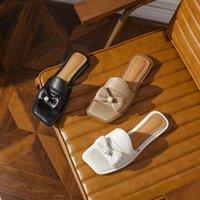 Sandalen Royessic, 2021 Damensandalen, Sommerschuhe, Hausschuhe, Barfuß, flacher Boden, Bogen, natürliches Vollleder, handgefertigte Schuhe