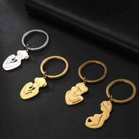 Baby Birth Name Date Personalized Custom Engrave Keychain Family Gift for Mother Stainless Steel Key Chain Ring Women Jewelry