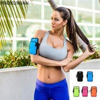 Saco de bolsa de braço ao ar livre correndo para homens mulheres multi-função à prova d 'água ciclismo esporte universal telefone móvel braçadeira titular casos celulares
