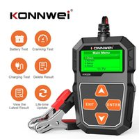 코드 독자 스캔 도구 Konnwei KW208 배터리 테스터 자동차 디지털 12V 100-2000CCA 크 랭킹 충전 시스템 테스트 도구 자동차 용량