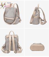 Designer Oxford Backpack Anti-theft Lightweight Travel Bag Women Casual Shoulder Bags