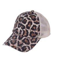 PoneyTail Capuchon de baseball Cravate Teams Sequins Somy Bun Chapeaux lavé Snapback Caps Summer Sun Visor Chapeau d'extérieur OOA8165-1