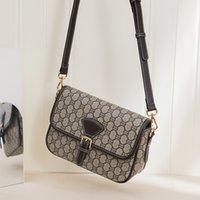 2021 Style Messenger Bags Casual Female Shoulder Bag PVC material Purses Flower Printed Pocket Women Crossbody Shopping Packs