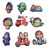 Wholesale Luca Croc Charms Fit for Clog Shoes and Wristband Bracelet Decoration Kids Teen Adulty Party Gifts