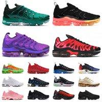 ayakkabı nike air vapormax plus tn flyknit 2019 vapor max running off white max vapourmax airmax shoes Tns  Koşu Ayakkabıları Erkek Kadın Boyutu ABD 13 Eğitmenler Spor Ayakkabıları