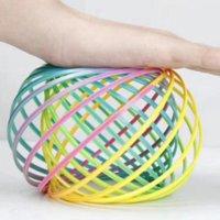 3d الذراع تدفق الدائري اللعب البلاستيك toroflux الدائري السحرية الضغط اللعب الأطفال أطفال الهدايا ZHL4544