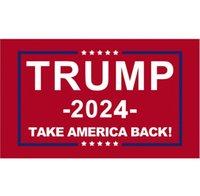 Трамп Флаг 2024 Знамя избрания Дональд Храните Америку Большое снова Иванка Флаги 150 * 90см 3х5 футов