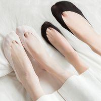 1 Pair Women's Summer Invisible Socks irls Female No Show Socks Low Cut Sock Nylon Silk Sock For Lady Women