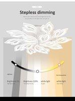 Modern Led Chandelier Ring Living Room Dining Bedroom Lamp Memory Function Ceiling Lighting Fixture Pendant Lamps