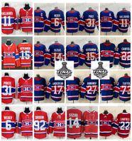 2021 Stanley Cup final Montreal Canadiens Hóquei Jersey Cole Cole Caufield Carey Preço Shea Weber Brendan Gallagher Toffoli Drouin Kotkaniemi Suzuki Anderson Romanov