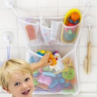 Storage Boxes & Bins Bath Toy Organizer Bag Baby Net Mesh Bathroom Holder Kids Bathtub Tub Toys Hanging