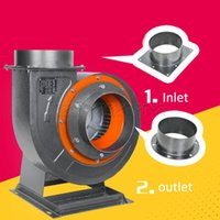 Power Tool Sets 3000W High Pressure 25CM Diameter Duct Large Air Volume Industrial Heat Proof Centrifugal Fan Blower Smoke Exhaust 380V 220V