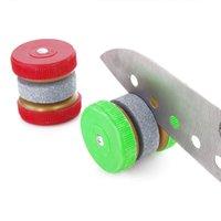 Мини-нож Точилка для ножей Круглая шлифовальные Колесные колеса Заточка Камень Бытовая Комната для кухонных аксессуаров