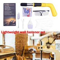 Professional Hand Tool Sets Home Improvement Tools Steel Nails Guns Rivet Concrete Wall Anchor Wire Slotting Device Decoration Gun Tufting