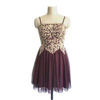 European and American version of bra Birthday Party Dress Cocktail daily wear girl graduation activity skirt