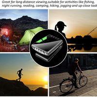 Recarregável 4 LED Motion Sensor Light Clip Intelligent Cap Tampão Lâmpada Ao Ar Livre Farol impermeável Acampamento Farol
