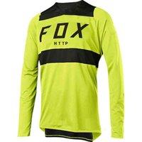 Мужская футболка 2021 MTB Джерси DH Motocross от Road Mountain Bike Downhill MX BMX HTTP FOX FXR MTB RACING J0819