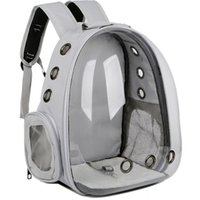 Cat Carriers,Crates & Houses Carrier Bag Breathable Transparent Puppy Dog Backpack Cats Box Cage Small Dogs Bags Pet Travel Handbag Space Ca