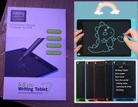 """رسم اللوحي 8.5 """"شاشة LCD الكتابة اللوحي الالكترونيات لوحة الرسومات رقيقة جدا منصات خط اليد المحمولة مع القلم الاطفال الهدايا"""