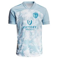 Мужские футболки спортивный Канзас Сити светло-синий 2021 PrimeBlue Jersey Parley футболка футболка с коротким рукавом футбол для футболки работает спортивный печать футболку размер S-4XL