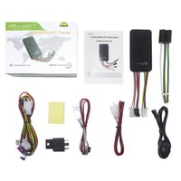 Tracker LBS Car Locator Remote Control Cut Off Power Fuel Alarm Tracking Monitor With Microphone & Accessories GPS
