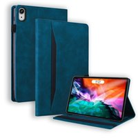 PU Leather Tablet Cases for Apple iPad Mini 6 5 Air 4 3 2 1 Pro 11 10.5 9.7 inch Samsung Galaxy Tab A7 Lite T220 T290 T500 Dual View Angle Advanced Business Flip Stand Cover