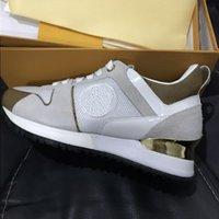 Entraîneurs de créateurs Véritable occasionnel 2018 Hommes Femmes Courant Sneakers respirants Marque Couleur de cuir SZ Chaussures Mélanger 36-45 gewck