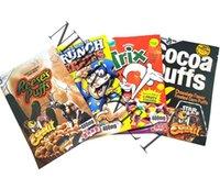 Astronaut und Reeses Puffs Grungh-Beeren Kakao essbare Polyester-Filmtasche leerer Verpackung Einzelhandelspeicher-Deodorant-Reißverschluss 0946