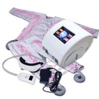 Pressotherapy 3 IN 1 Air Wave Pressure presoterapia Massage Compression Circulator Leg Arm Waist - Lymphatic Drainage Machine
