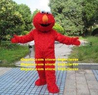 Fourrure longue monstre elmo monstre cookie mascotte costume de personnage de dessin animé adulte costume costume costume de grande échelle hilarant drôle cx2006