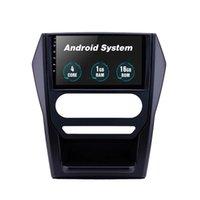 Lecteur DVD de voiture quadrial pour Mahindra Scorpio Auto A / C-2015 GPS Navigation Stéréo 1G Ram Impérité 9 pouces Android 10