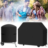 Tools & Accessories BBQ Grill Cover Waterproof Barbecue Protector 420D Oxford Fabric Rip-Proof Windproof Dustproof Outdoor